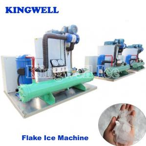 China Industrial Crushed Ice Maker Machine 1-30 Ton Beverage Shops Use on sale