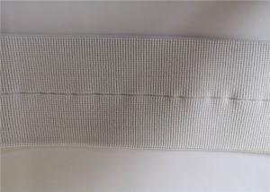 China 6 Cm White Elastic Nylon Webbing / Woven Nylon Strap For Garment Accessories on sale