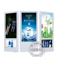 wall mounted HD 18.5inch+10inch Dual screen indoor LCD elevator advertising screen display
