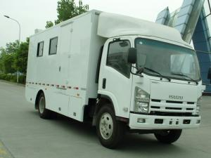 China ISUZU Mobile food truck for sale on sale