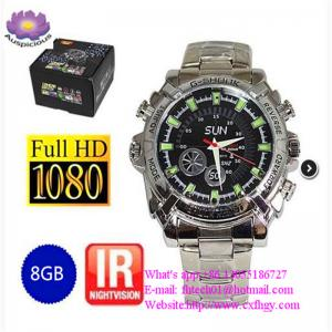 China Wholesale The HD Watch Camera/Spy Camera Watch/hand watch camera high quality   Made In China Factory on sale