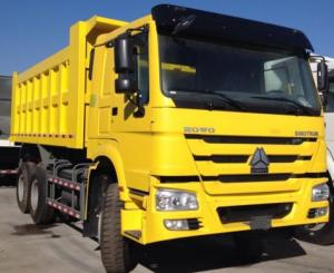 China Sinotruck HOWO Second Hand Truck WIth Strong Engine on sale