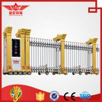 China Trackless Government Entrance Electric Retractable Automatic Expandable Gate L1510 on sale