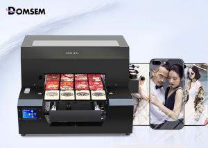 China Emboss Full Automatic Led A3 UV Flatbed Printer AC100-240V For Glass Phone Case on sale