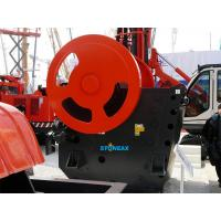 Protable Jaw Rock Crusher Energy Saving Large Crushing Ratio AC Motor
