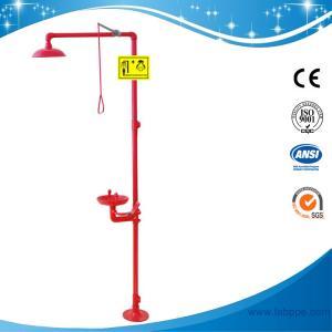 Quality SH712BSR-Safety shower & eyewash station,SS304 emergency shower and eye wash for sale