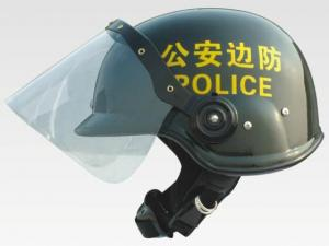 China Hongkong Style PC / AS Anti Riot Helmet for Riot Control Equipment on sale