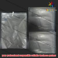 China Embossed PET Vacuum Seal Storage Bags With Zip Lock For Cookies on sale
