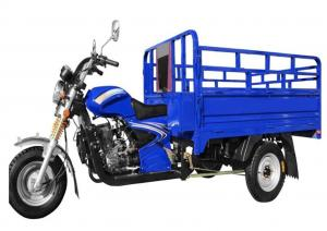 China Chinese Cargo Tricycle Motorcycle Truck / 3 Wheel Electric Cargo Bike Blue on sale