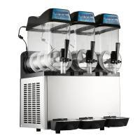 Single Compressor Ice Slush Machine Air Cooling With Three Bowl