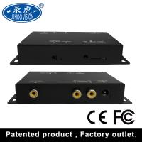 Durable 2 Channel Car DVR System NTSC PAL Parking Monitoring Driving Recorder