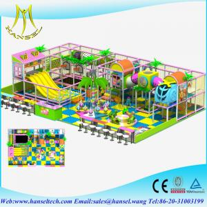 China Hansel high quality wholesale kids soft padded playground toy on sale