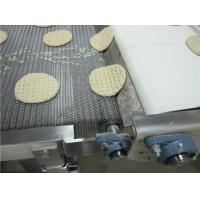 Biscuit Baking Honeycomb Food Conveyor Belt Flat Flex Design Anti Corrosion