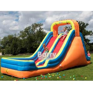 China EN14960 Inflatable Water Slides For Kids Backyard Inflatable Water Slide For Rent on sale