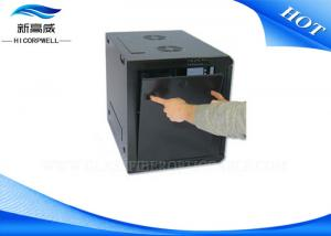 China Cold Rolled Steel Fiber Termination Kits Network Cabinets Powder Coating Finish on sale