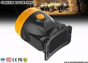 China 230mA Anti - Explosion Cordless Rechargeable LED Cordless Miner Cap Lamp on sale