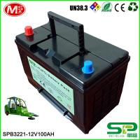 Economy environmental 12v 100Ah LiFePO4 Battery pack for electric sweeper factory price