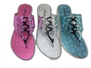 China Women Outdoor Waterproof Breathable PVC Jelly Sandals on sale