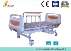 China Al-Alloy Siderail 2 Ways Crank Clinic Bed Medical Hospital Beds (ALS-M233) on sale