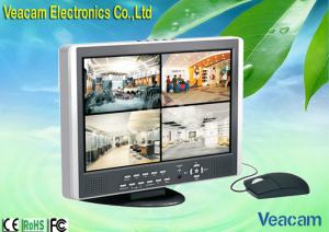 "China 8CH CCFL Color H.264 triplex 15"" LCD CCTV Monitors With USB 2.0 Port Lcd Security Monitors on sale"
