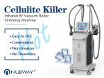 2018 advanced velashape rf roller infrared vacuum body shaping machine cellulite with FDA