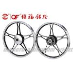 Factory direct motorcycle wheel aluminum alloy 17inch CD70 for Pakistan