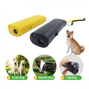 China Dog Repeller Ultrasonic Pet Trainer Anti Bark Stop Barking Handheld Control Traine on sale