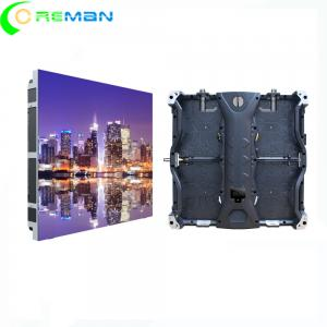 China Custom Mobile LED Video Wall Display Concave CE Rohs Approved Intelligent Monitoring on sale