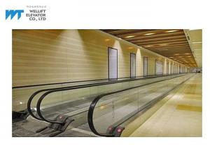 China Micro Computer Control Airport Moving Walkway Step Width 600 / 800 / 1000mm on sale