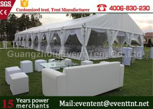 China Luxury Wedding Party Tent event marquee With Hard ABS wall  / Glass Wall Easy Assemble on sale