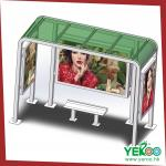 outdoor furniture bus shelter light box