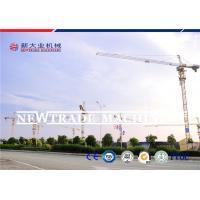 1600KN.M QTZ160 Self Raising Construction Tower Crane Lifting Capacity 10T