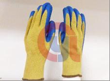 China Flame Retarding Aramid Cut Protection Gloves For Metal Sheet And Glass Processing on sale