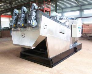 China volute sludge dewatering equipment on sale