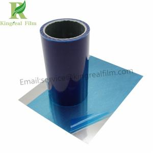 China No Residue 0.03-0.15mm Thickness Blue Protective Film for Stainless Steel on sale