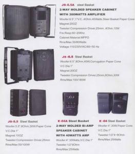 China pro audio speaker boxes on sale