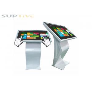 China Hotel Wifi Digital Signage Tablet Display Kiosk AC100~240V 50 /60 HZ on sale