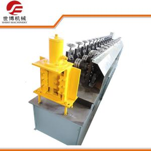 China PLC Metal Stud And Track Roll Forming Machine , Gutter Roll Forming Machine  on sale