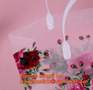 China pp shopping bags, shop carrier, envelope pocket folder custom cute printed a4 plastic document carrying file folder bag on sale