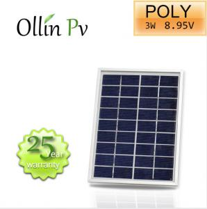 China Crystalline PV Modules Polycrystalline Solar Panel Anodized Aluminium Alloy Frame on sale