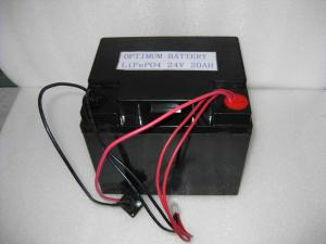 China 24v-20ah Lithium Iron Phosphate Battery Solar Light Battery Device on sale