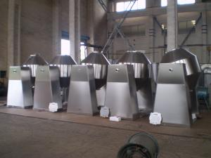 China Double Conical Industrial Paint Mixer Machine , Industrial Paint Mixing Equipment on sale
