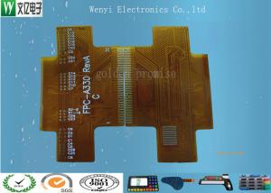 China High Precision Gold finger 1 OZ Copper 0.3mm thickness 2 layer Flexible Printed Circuit on sale