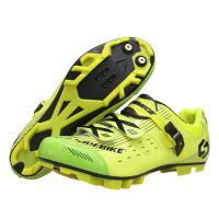 Microfiber Upper Mens MTB Cycling Shoes High Reliability With CE / ISO Certification