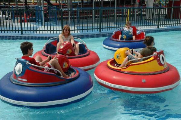 Homemade Kiddie Inflatable Bumper Boat For Adults In