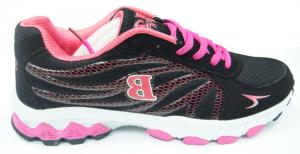 China Women Pink & Black Sport Running Shoes size 30 - 46 For Running / Exercise on sale