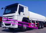 Sinotruk howo 336hp EuroII 15m3 1200R20 tire water tank truck for Africa market