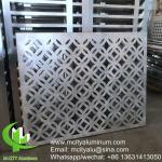 Wall cladding engraved aluminum decorative facade  panel exterior building curtain wall