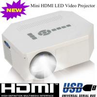 Multimedia Home Used LED Lamp Portable Projector With HDMI USB VGA Work For DVD PS Wii