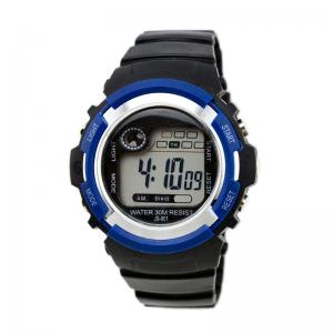 China Black Cool Sports Boys Digital Watch Mechanical Wrist Watch With Alarm on sale